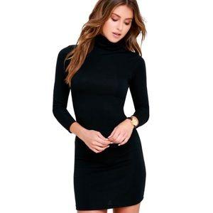 NWT Lulus Bodycon Turtleneck Dress